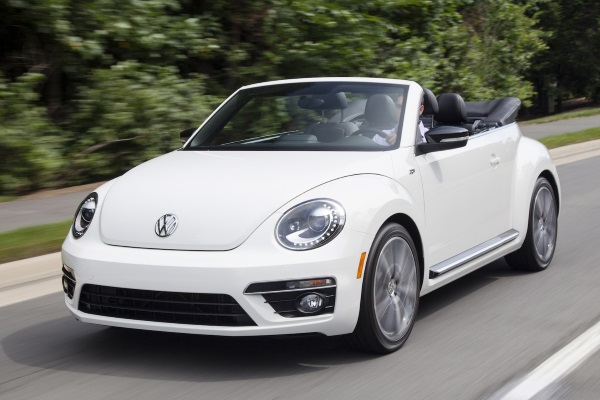 Blogimage of VW Beatle Cabrio