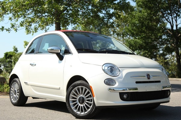 Blogimage of Fiat 500 Cabrio Automatic