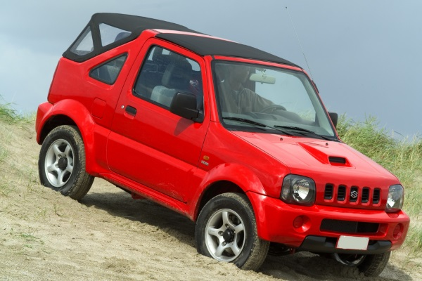 Blogimage of Suzuki Jimny Cabrio